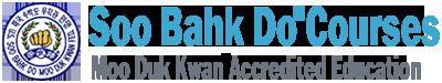 Soo Bahk Do® Courses