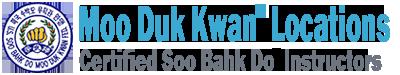 Moo Duk Kwan® Locations